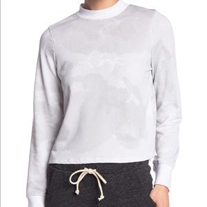 NEW Alternative Mock Neck Knit Sweatshirt